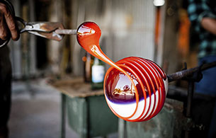 Vianello Limousine Service murano art glass blowing
