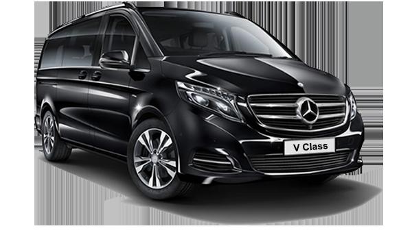 Mercedes V Class luxury minivan